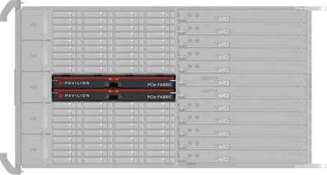 Pavilion Hyperparallel Flash Array Redundant-Fabric
